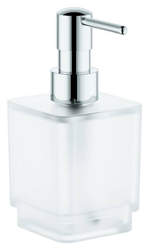 Дозатор Grohe 40805000 Selection Cube жидкого мыла, фото