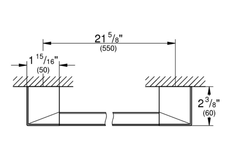 Поручень Grohe 40807000 Selection Cube для ванной, фото