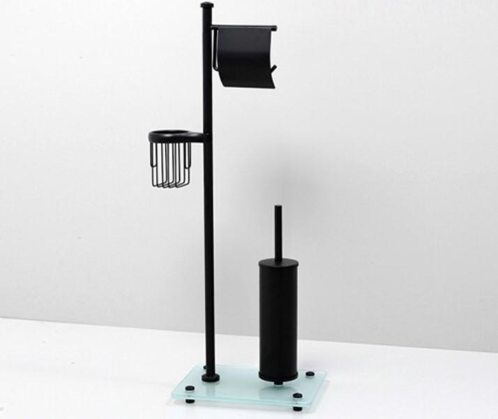 Стойка WasserKRAFT K-1264 Black комбинированная напольная, фото