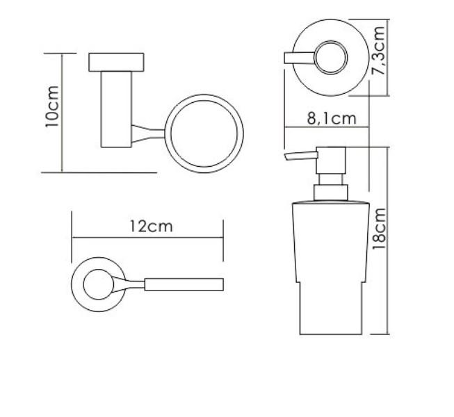 Дозатор для жидкого мыла WasserKRAFT K-28299, фото
