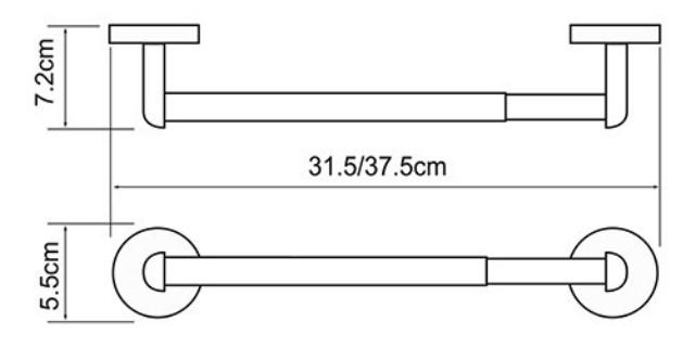 Держатель бумажных полотенец WasserKRAFT Rhein K-6291, фото