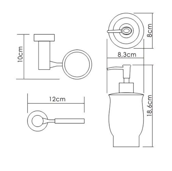 Дозатор для жидкого мыла WasserKRAFT K-24299, фото