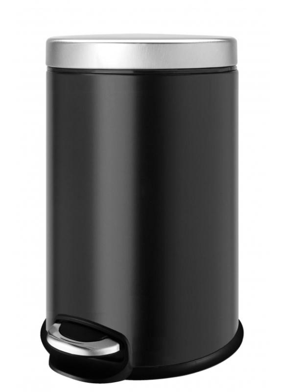 Ведро мусорное WELTWASSER WW ERFIE BL 5L Черный, фото