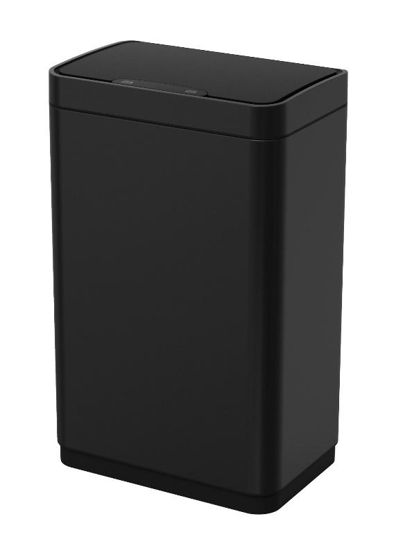 Ведро WELTWASSER WW VEGAS BL 12L Матовый черный, фото