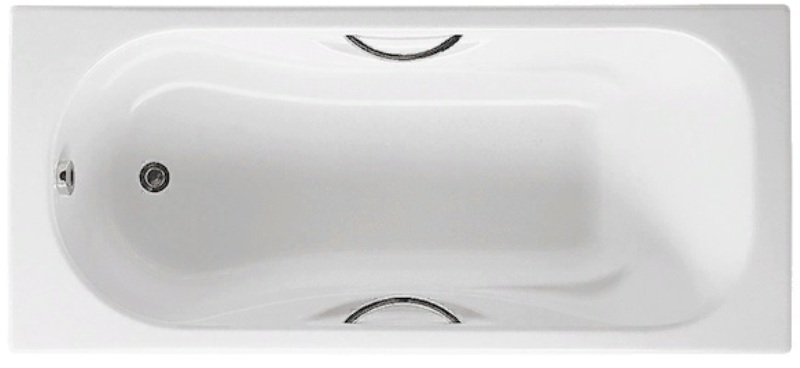 Фото - Чугунная ванна Roca MALIBU 2315G000R с отвер. п/ручк (150х75)