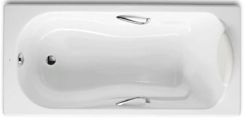 Фото - Чугунная ванна Roca HAITI 2327G000R с отвер. п/ручки (170х80)
