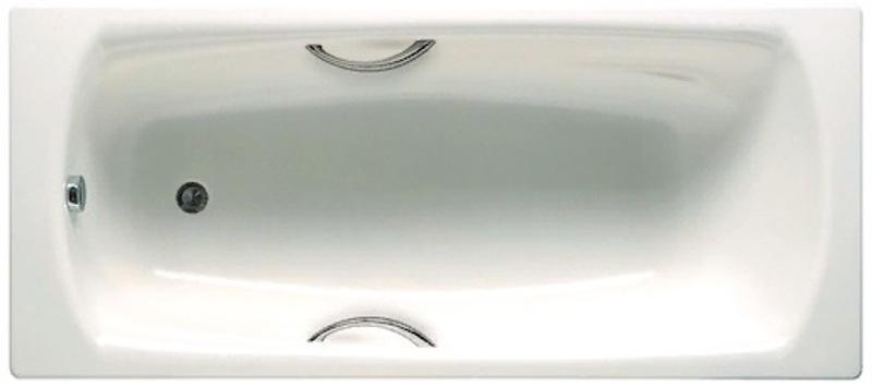 Фото - Стальная ванна Roca SWING 2200E0000 с отв.п/ручк (180х80)