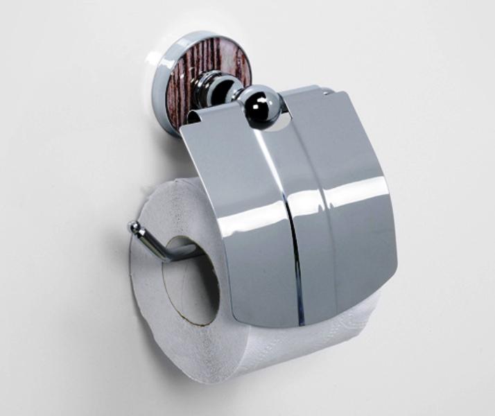 Держатель WasserKRAFT Regen K-6925 туалетной бумаги с крышкой, фото
