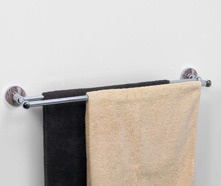Штанга WasserKRAFT Regen K-6940 для полотенец двойная, фото