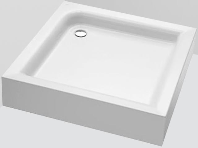 Фото - Душевой поддон AM.PM W53T-303-090W BLISS L Square Slide, 90x90, белый акрил