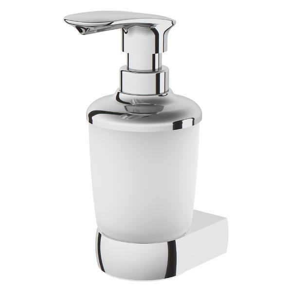 Диспенсер AM.PM Sensation A3036900 стеклянный для жидкого мыла с настенным держателем, хром, фото