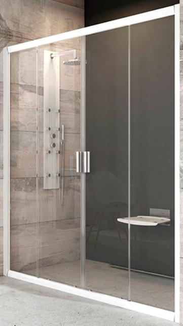 Фото - Душевая дверь Ravak BLDP4-200 блестящий + стекло графит (0YVK0C00ZH)