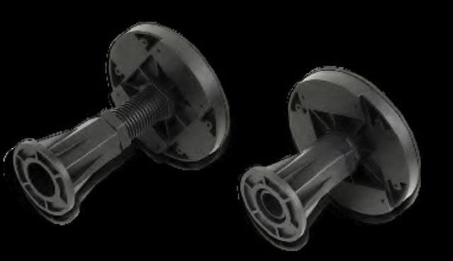 Фото - Ножки для душевых поддонов WELTWASSER WW LK/9 TRS12080,TRS12090 (9 шт)