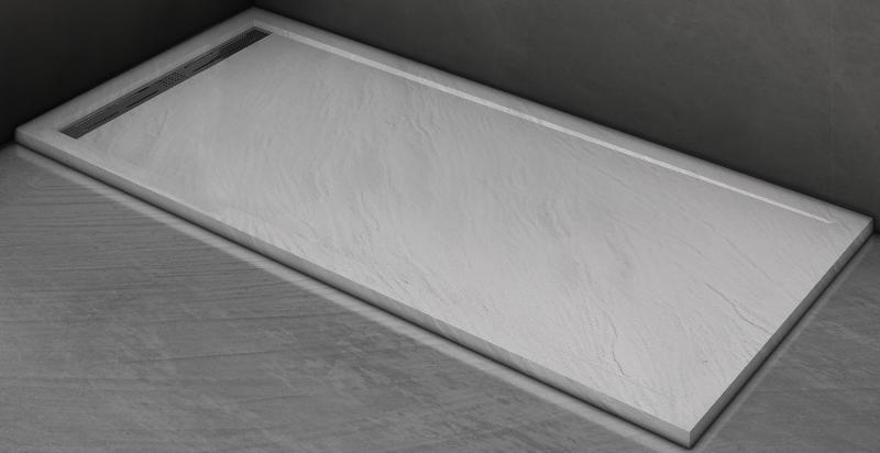 Фото - Душевой поддон WELTWASSER WW TRS 10080 STONE-WT Белый 1000х800х30 мм