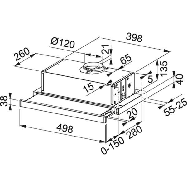 Фото - Вытяжка кухонная Franke FTC 532L GR/XS (315.0547.794)