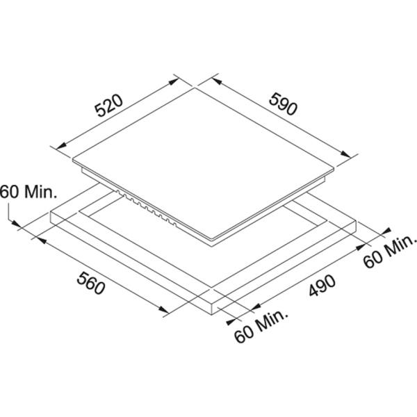 Фото - Варочная поверхность Franke FHR 603 C TD BK (108.0530.022)