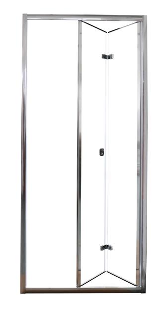 Фото - Душевая дверь Cerutti BELLA D91T (90x195) складная из 2х частей, прозрачное стекло
