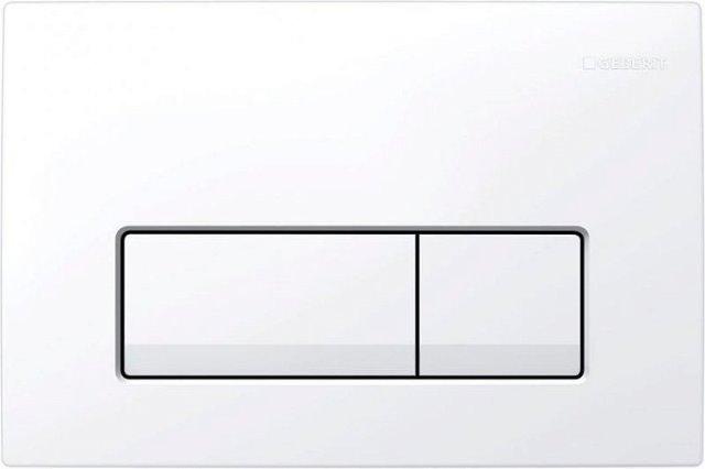 Фото - Инсталляция комплект Geberit 458.125.11.1 DUOFIX ПЛАТТЕНБАУ для унитаза (белый)