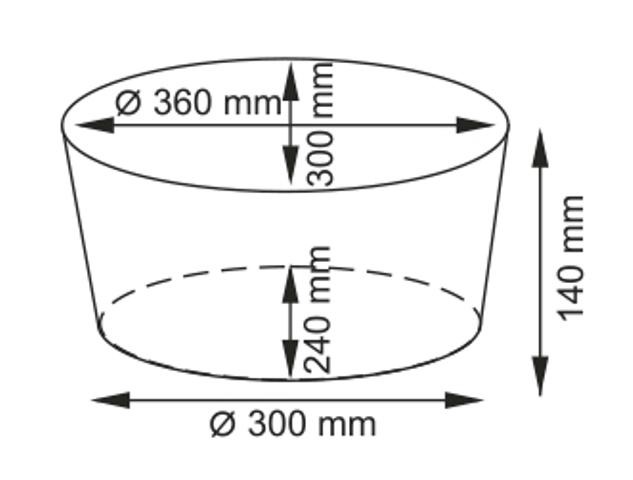 Плетеная корзина WasserKRAFT Rossel WB-280-S прутья ивы, фото