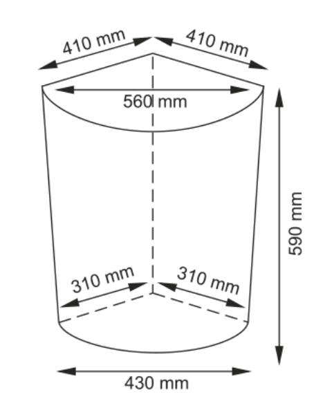 Плетеная корзина WasserKRAFT Salm WB-270-L для белья с крышкой прутья ивы, фото