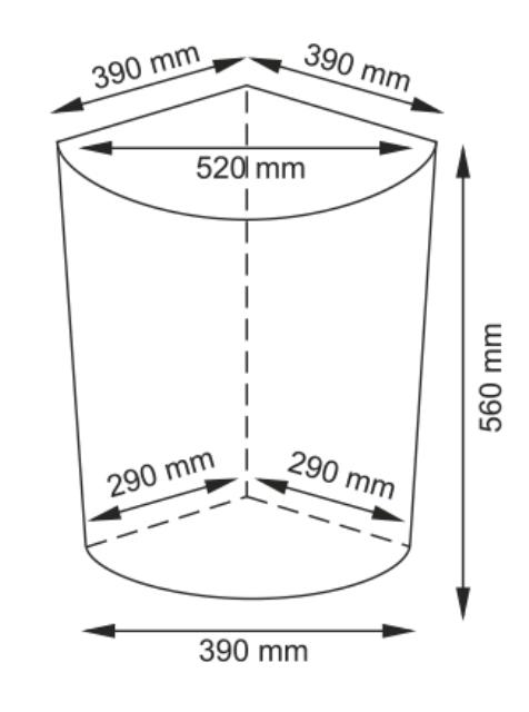 Плетеная корзина WasserKRAFT Vils WB-560-L для белья с крышкой прутья ивы, фото