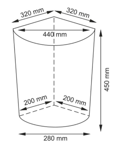 Плетеная корзина WasserKRAFT Vils WB-560-M для белья с крышкой прутья ивы, фото