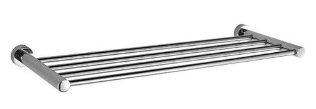Полка для полотенец WasserKRAFT Donau K-9411 металл, хромоникелевое покрытие, фото