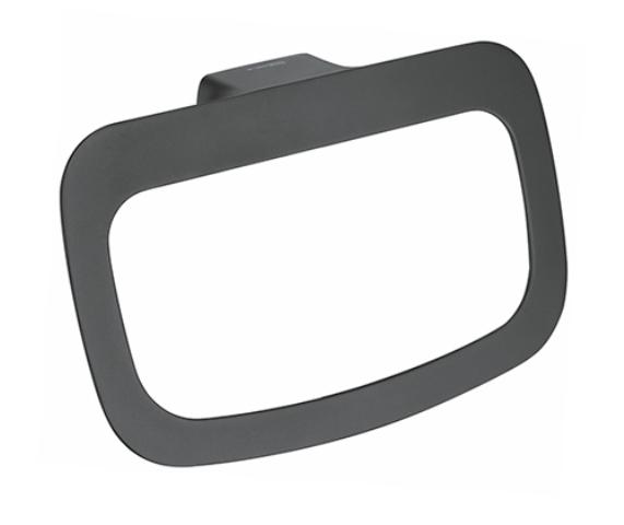 Держатель полотенец WasserKRAFT Elbe K-7260 кольцо металл, PVD покрытие, фото