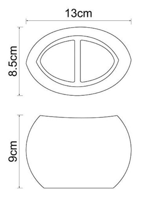 Стакан для зубных щеток WasserKRAFT Eider K-33328A полирезин, фото