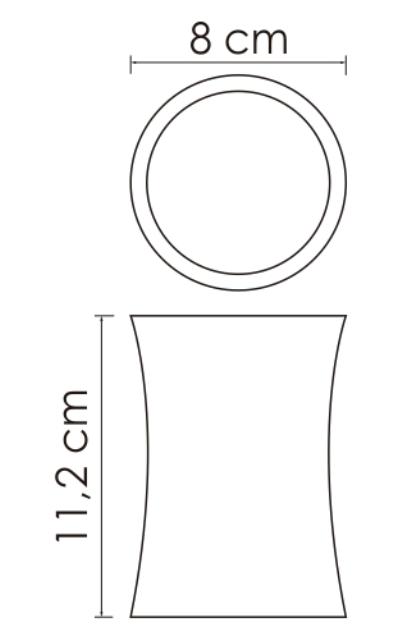Стакан для зубных щеток WasserKRAFT Salm K-7628 полирезин, фото