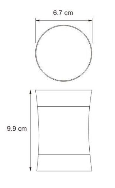 Стакан для зубных щёток WasserKRAFT Wern K-7528 нержавеющая сталь, фото