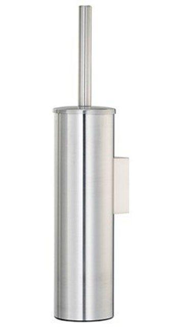 Щётка для унитаза WasserKRAFT K-1057 подвесная, покрытие матовый хром, фото
