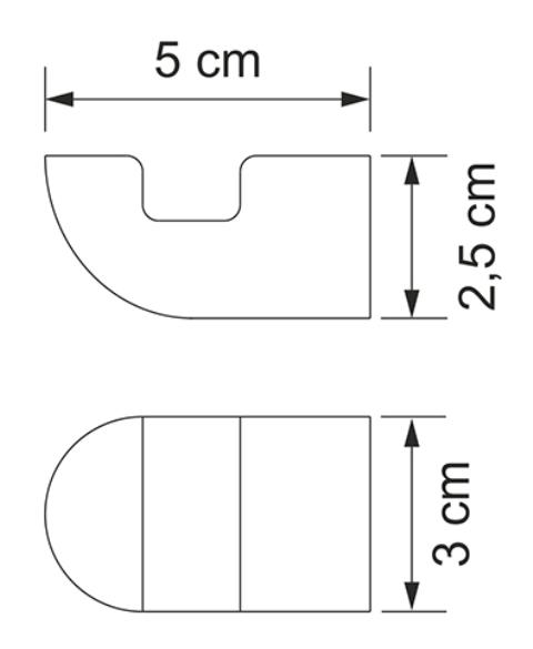 Крючок WasserKRAFT Kammel K-8323 металл, хромоникелевое покрытие, фото