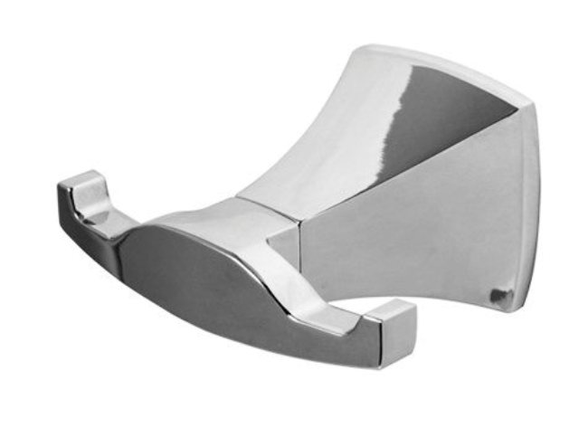 Крючок двойной WasserKRAFT Wern K-2523D металл, хромоникелевое покрытие, фото