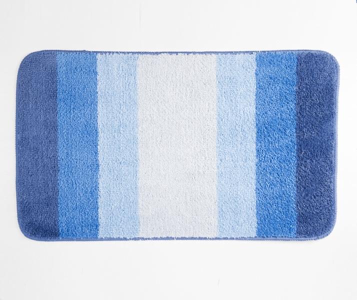 Коврик WasserKRAFT Lopau BM-1101 для ванной комнаты 75х45 см микрофибра, фото