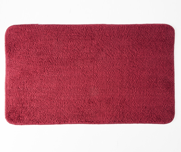 Коврик WasserKRAFT Vils BM-1051 Ruby vine для ванной комнаты 75х45 см микрофибра, фото