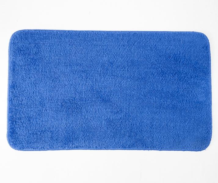 Коврик WasserKRAFT Vils BM-1071 Turkish sea для ванной комнаты 75х45 см микрофибра, фото