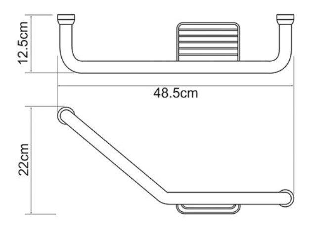 Поручень WasserKRAFT K-1077 Right для ванны, фото