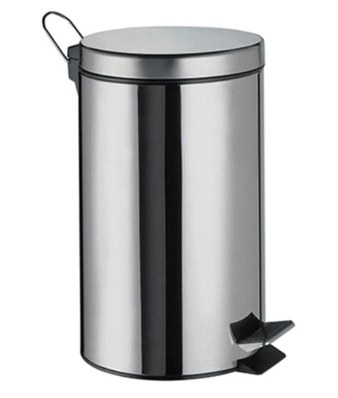 Ведро WasserKRAFT K-637 7 л нержавеющая сталь AISI 304, хромоникелевое покрытие, ABS - пластик, фото