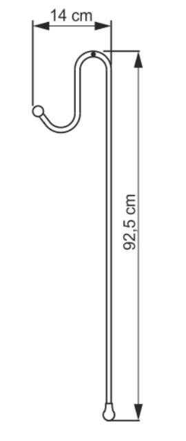 Держатели WasserKRAFT K-1133 для 3-х навесных полок металл, хромоникелевое покрытие, фото