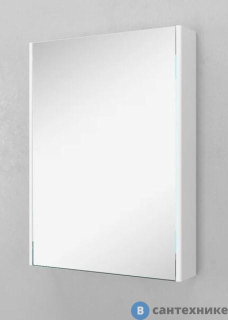 Зеркало-шкаф Velvex Klaufs 60-216 Белый 600*139*800 (zsKLA.60-216)